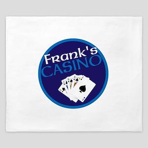 Personalized Casino King Duvet