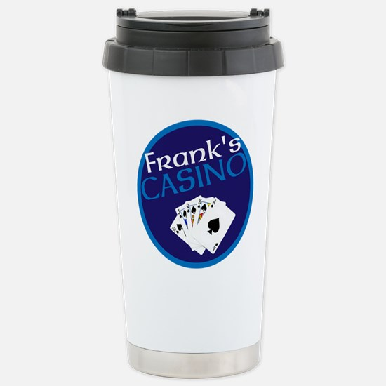 Personalized Casino Stainless Steel Travel Mug