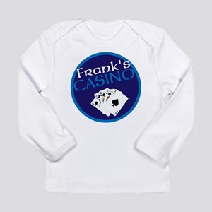Personalized Casino Long Sleeve Infant T-Shirt