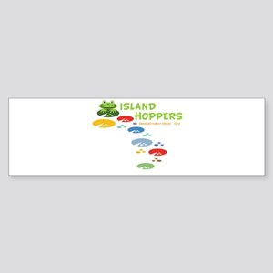 Island Hoppers Sticker (Bumper)