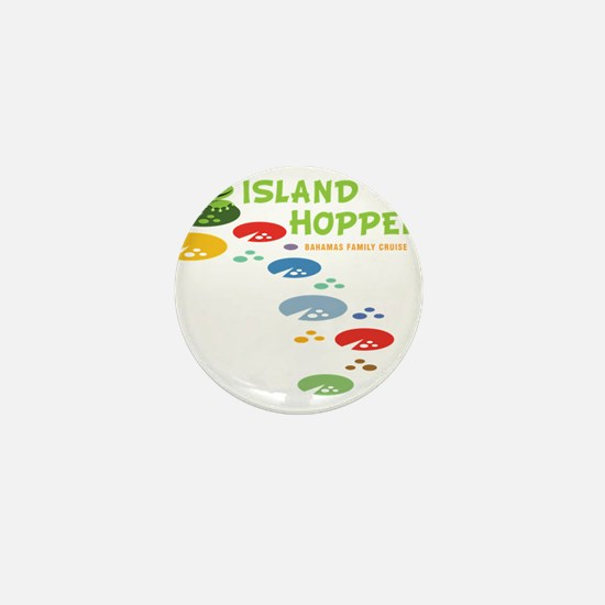 Island Hoppers Mini Button