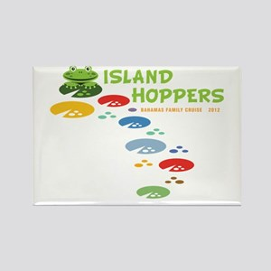 Island Hoppers Rectangle Magnet