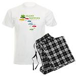 Island Hoppers Men's Light Pajamas