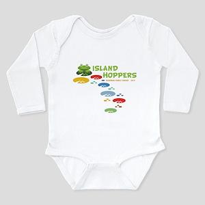 Island Hoppers Long Sleeve Infant Bodysuit