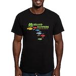 Island Hoppers Men's Fitted T-Shirt (dark)