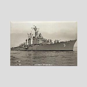 USS JOHN S. MCCAIN Rectangle Magnet