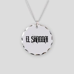 El Shaddai Necklace Circle Charm