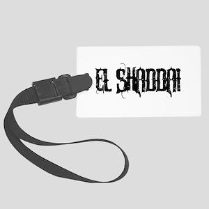 El Shaddai Large Luggage Tag