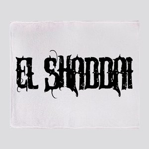 El Shaddai Throw Blanket