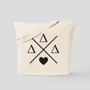Delta Delta Delta Cross Tote Bag