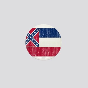 Mississippi Flag Mini Button