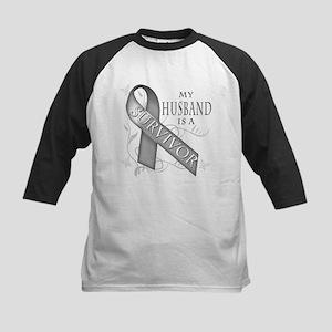 My Husband is a Survivor (grey).png Kids Baseball