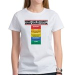 Zombie Advisory System Women's T-Shirt