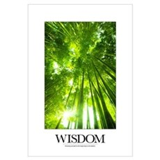 Inspirational Poster: Knowing yourself is the begi Framed Print