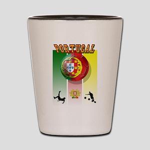 Portugal Futebol Shot Glass