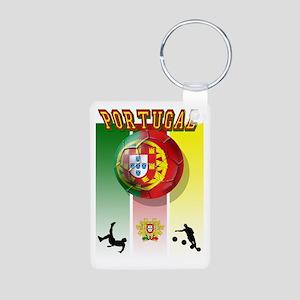 Portugal Futebol Aluminum Photo Keychain Keychains
