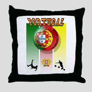 Portugal Futebol Throw Pillow