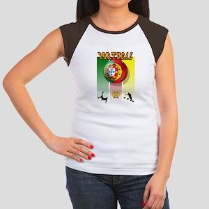 Portugal Futebol Women's Cap Sleeve T-Shirt