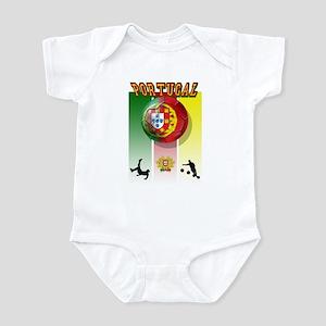 Portugal Futebol Infant Bodysuit