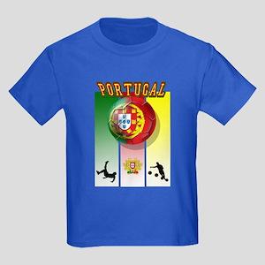 Portugal Futebol Kids Dark T-Shirt