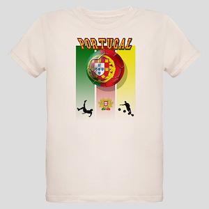 Portugal Futebol Organic Kids T-Shirt
