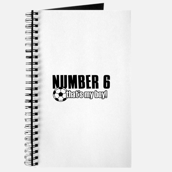 Proud soccer parent of number 6 Journal