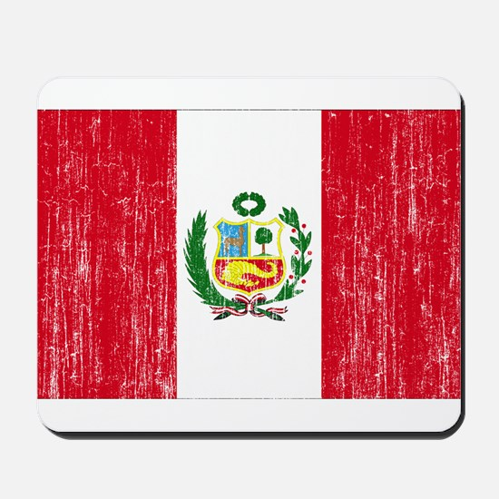 Peru Flag Mousepad