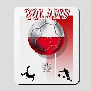 Poland Football Soccer Mousepad