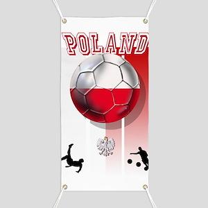 Poland Football Soccer Banner