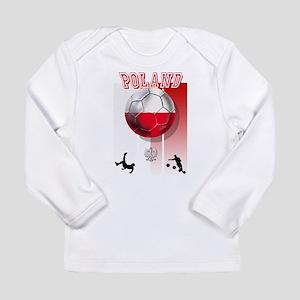 Poland Football Soccer Long Sleeve Infant T-Shirt