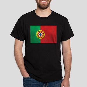 Portugal Flag Dark T-Shirt