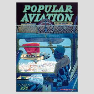 Popular Aviation Magazine Cover, November 1928
