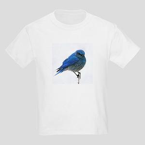 Mountain Blue Bird Kids Light T-Shirt