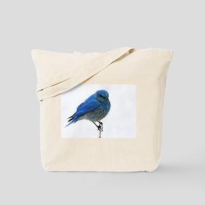 Mountain Blue Bird Tote Bag