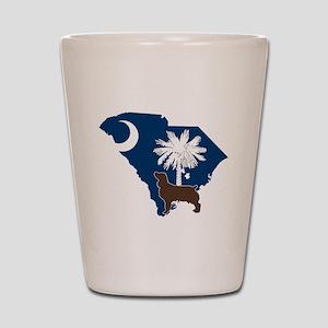 South Carolina Boykin Spaniel Shot Glass