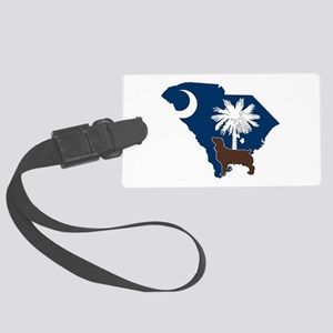 South Carolina Boykin Spaniel Large Luggage Tag
