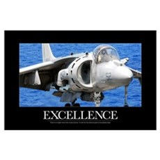 Air Force Poster: Excellence Poster