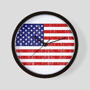 United States Flag Wall Clock