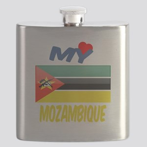 My Love Mozambique Flask