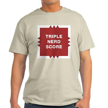 Triple Nerd Score Light T-Shirt
