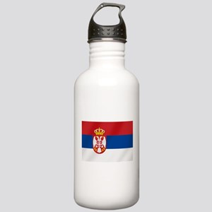 Flag of Serbia Stainless Water Bottle 1.0L