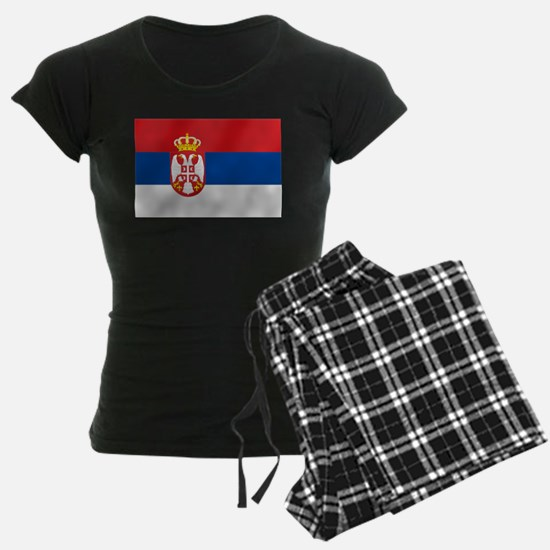Flag of Serbia Pajamas