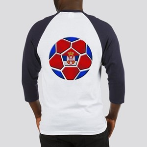 Serbia Football Baseball Jersey
