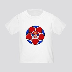 Serbia Football Toddler T-Shirt
