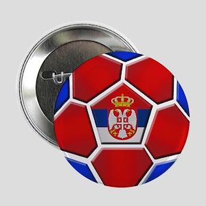"Serbia Football 2.25"" Button"