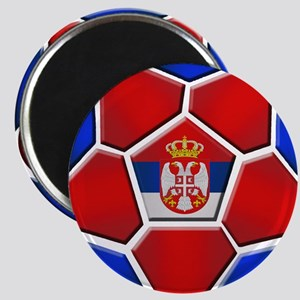 Serbia Football Magnet