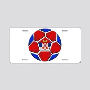 Serbia Football Aluminum License Plate