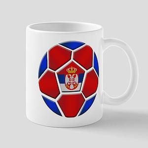 Serbia Football Mug