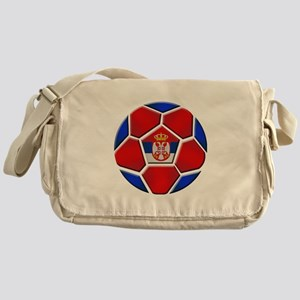 Serbia Football Messenger Bag