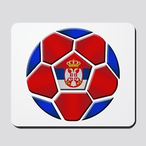 Serbia Football Mousepad